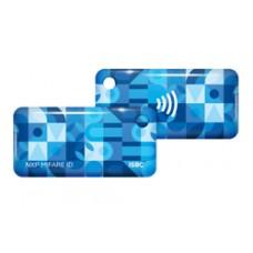 ISBC RFID-брелок Mifare ID 4 byte nUID (синий)