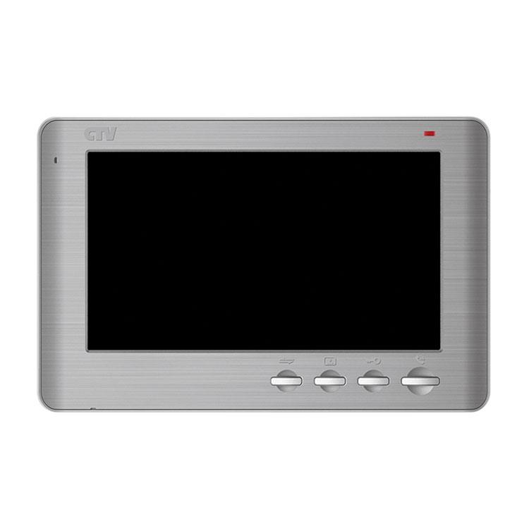 CTV-M1704 SE Монитор видеодомофона (Серебристый металик)