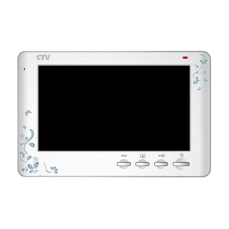 CTV-M1704 SE (Белый декор) Монитор видеодомофона