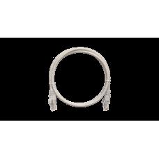 NETLAN EC-PC4UD55B-BC-LSZH-005-GY Коммутационный шнур NETLAN U/UTP 4 пары, Кат.5е (Класс D), 0,5м