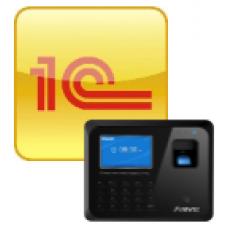 Anviz 1С Модуль интеграции систем учета рабочего времени и 1C