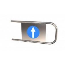 Дуга на калитку К2 (правая) стрелка / кирпич Ø32 L=760 мм
