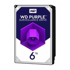 Жесткий диск WD Purple WD60PURZ, 6Тб, HDD, SATA III, 3.5