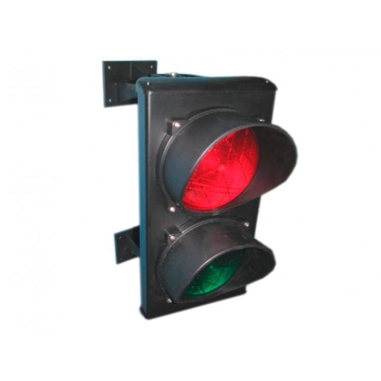 CAME C0000710.2 Светофор светодиодный, 2-секционный, красный-зелёный, 230 В.