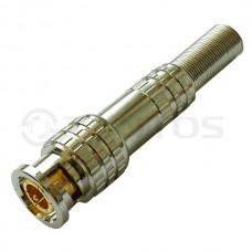 TANTOS BNC штекер под винт с пружиной (металл)