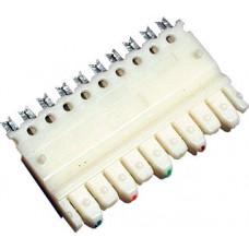 Hyperline 110C-M-5P Модуль для кросс-панелей