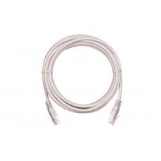 NETLAN EC-PC4UD55B-BC-PVC-005-GY Коммутационный шнур U/UTP 4 пары, Кат.5е (Класс D), 0,5м