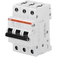 АВВ S203 C40  3Р 40А С 6 кА Выключатель автоматический
