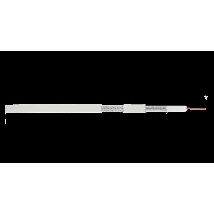 NETLAN EC-C2-32123A-WT-1 Кабель коаксиальный, RG-6 (75 Ом)