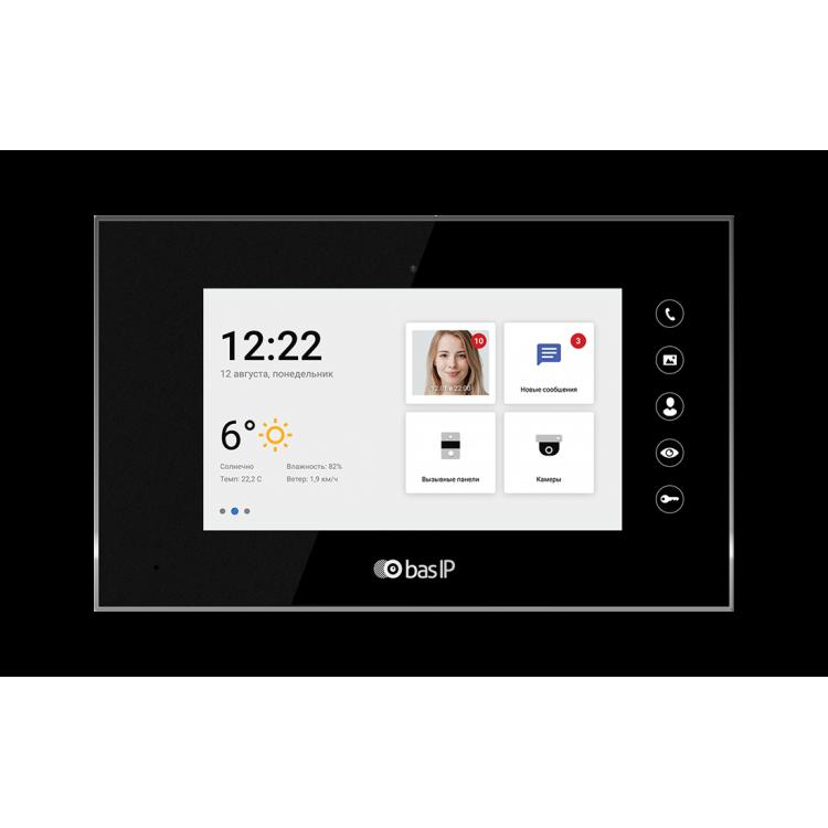 BAS-IP AQ-07LA BLACK Видеодомофон индивидуальный