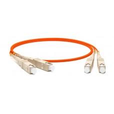 Hyperline FC-D2-50-SC/PR-SC/PR-H-2M-LSZH-OR Патч-корд