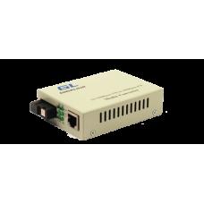 GIGALINK GL-MC-UTPF-SC1F-18SM-1550 Конвертер 100Мбит/c в WDM, LFP, SM, SC, Tx:1550/Rx:1310, 20 км