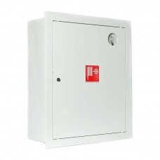Шкаф пожарный ШПК 310 ВЗБ встроенный закрытый белый