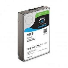 Жесткий диск SEAGATE Skyhawk ST10000VX0004, 10Тб, HDD, SATA III, 3.5