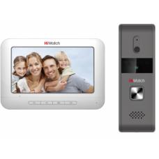 HiWatch DS-D100KF Комплект аналогового видеодомофона c памятью до 200 снимков