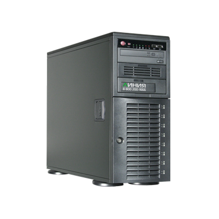 Линия NVR-48 SuperStorage IP Видеосервер