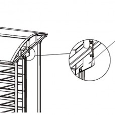 PERCo-RF01 0-10 Кронштейн для стыковки турникета с крышей