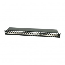 Hyperline PP2-19-24-8P8C-C6A-SH-110D Патч-панель