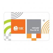 ISBC смарт-карта с чипом Mifare Plus SE 1k 7b (белая)