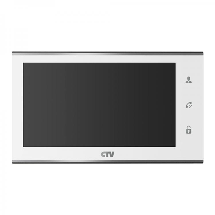 CTV-M2702MD Монитор (Белый) цветного видеодомофона с экраном 7