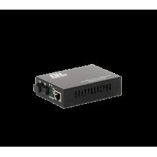 GIGALINK GL-MC-UTPF-SC1F-18SM-1310.r2 Медиаконвертер из UTP, 100Мбит/c в WDM, LFP, SM, SC, Tx:1310/Rx:1550, 18 дБ (до 20 км) rev2