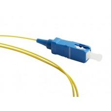 Hyperline FPT-B9-9-SC/AR-1M-LSZH-YL Пигтейл волоконно-оптический SM 9/125 (OS2), SC/APC, 1 м, LSZH