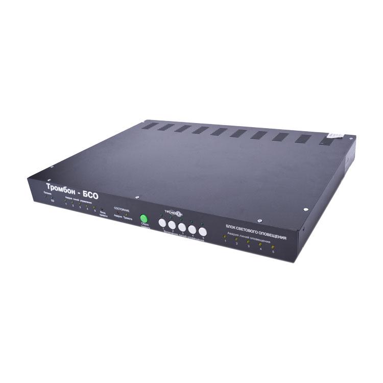 Тромбон  БСО Блок управления световыми оповещателями
