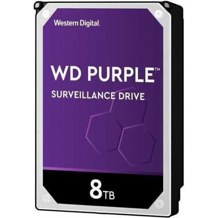 Жесткий диск WD Purple WD82PURZ, 8Тб, HDD, SATA III, 3.5