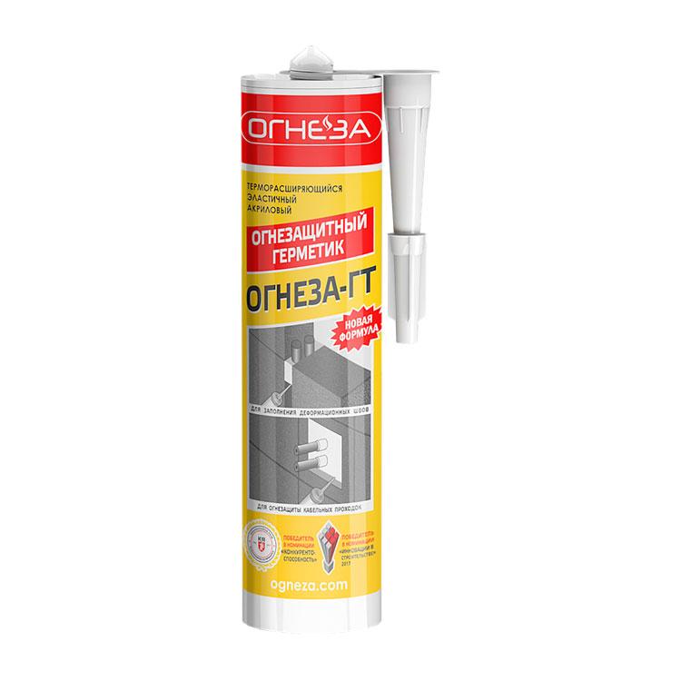 ОГНЕЗА-ГТ Огнезащитный терморасширяющийся герметик, 310 мл
