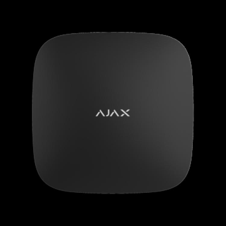 Ajax Hub 2 Plus black Интеллектуальный центр системы безопасности