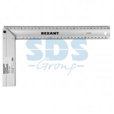 REXANT 12-9201 Угольник строительный литой алюминиевый 300 мм