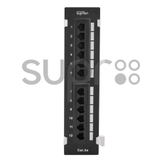 SUPR SL-20U12W5 Патч-панель настенная 12хRJ-45, UTP, Cat.5e