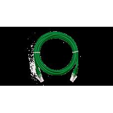 NETLAN EC-PC4UD55B-BC-PVC-010-GN Коммутационный шнур U/UTP 4 пары, Кат.5е (Класс D), 1м