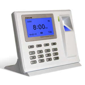 Anviz D200 Desktop  супертонкий биометрический терминал для учета рабочего времени.