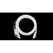 NETLAN EC-PC4UD55B-BC-PVC-005-WT Коммутационный шнур U/UTP 4 пары, Кат.5е (Класс D), 0,5м