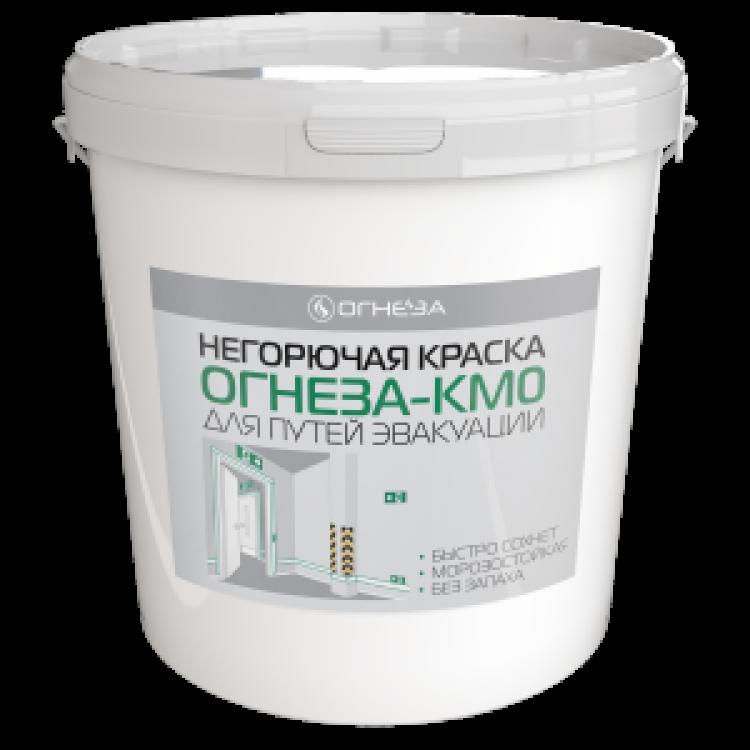 ОГНЕЗА-КМ0 Негорючая краска для путей эвакуации (для бетона), 25 кг