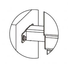PERCo-RF01 0-11 Кронштейн для стыковки со стеной