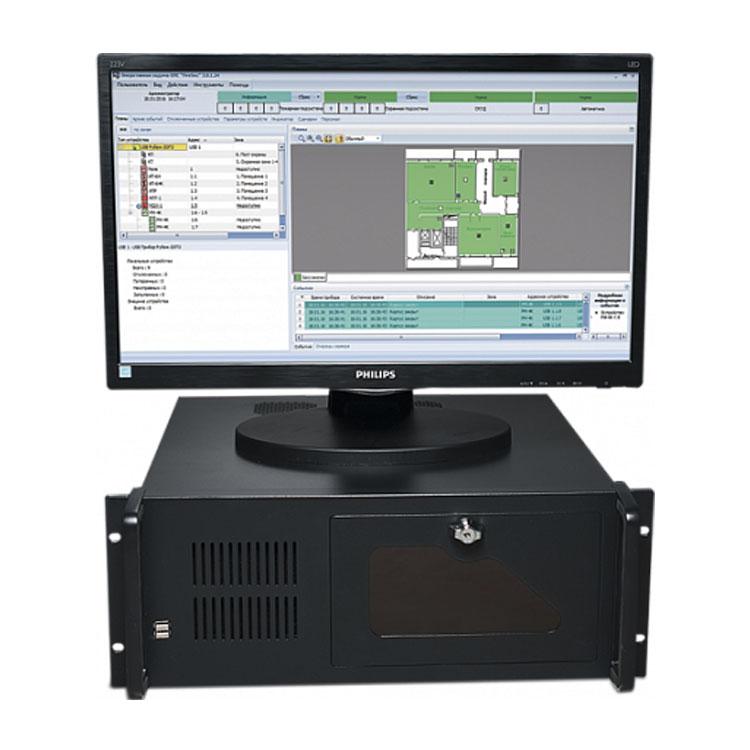 Рубеж-ARM исп 1 Центральный прибор индикации и управления