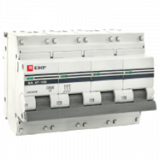 EKF  mcb47100-4-10C-pro Выкл.автомат. ВА 47-100 4P  10А (C)