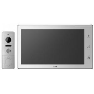 CTV-DP4102 FHD (Белый) Комплект видеодомофона формата AHD