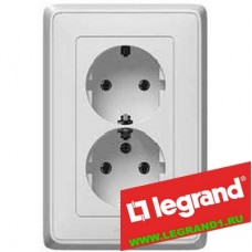 Legrand Cariva 773627 Розетка СП 2м