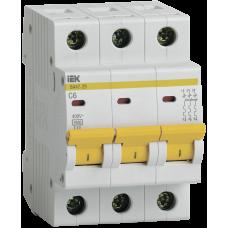 IEK ВА 47-29 3р 10А (С) Выключатель автоматический