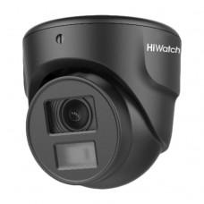 HiWatch  DS-T203N (3.6 mm) 2Мп уличная миниатюрная купольная HD-TVI камера
