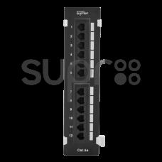 SUPR 10-0407 Патч-панель настенная 12хRJ-45, UTP, Cat.5e