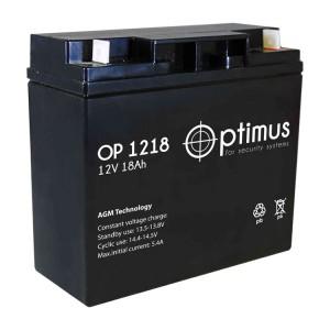 Optimus OP 1218 Аккумулятор