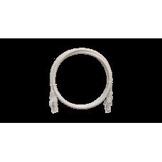 NETLAN EC-PC4UD55B-BC-PVC-010-GY Коммутационный шнур U/UTP 4 пары, Кат.5е (Класс D)
