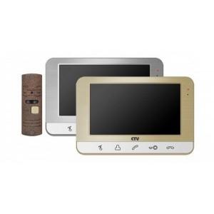 CTV-DP1703 Комплект видеодомофона в одной коробке