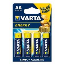 VARTA 4106 ENERGY АА LR6 BL4 Эл-т питания (4шт/уп)