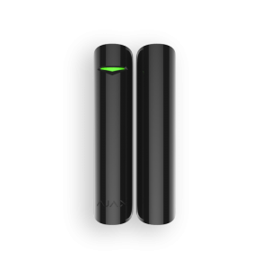Ajax DoorProtect Plus (black) Беспроводной датчик открытия, удара и наклона