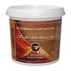 ОГНЕЗА-ВД-Д Огнезащитная краска для дерева на водной основе, 3 кг
